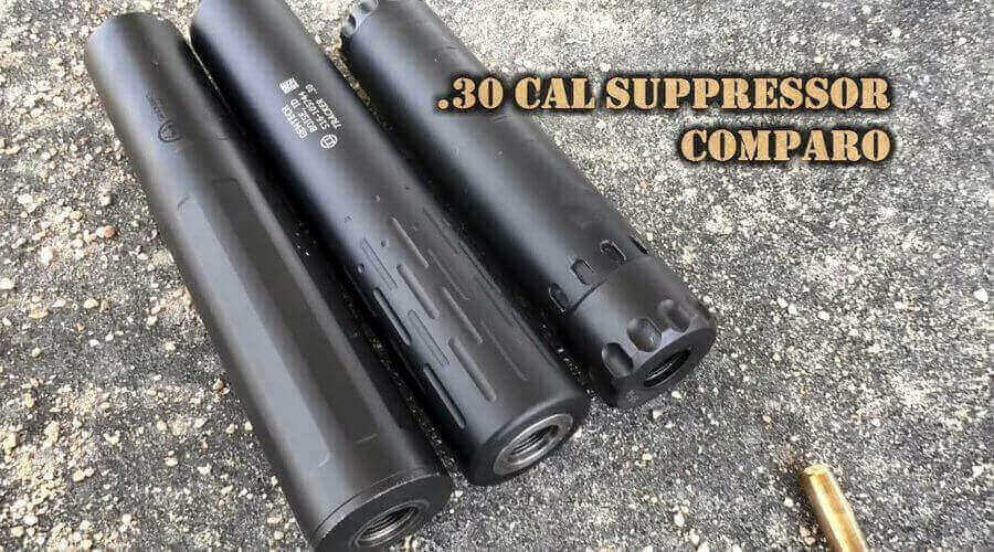 Best 30 Cal Suppressor for the money