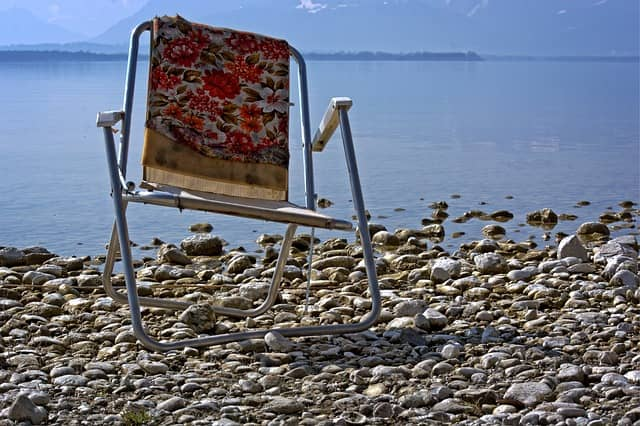 Can you use a camping chair on the beach