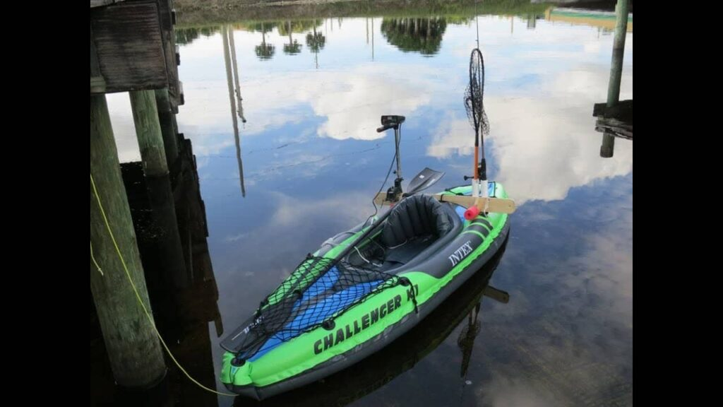 Best inflatable fishing kayak with trolling motor