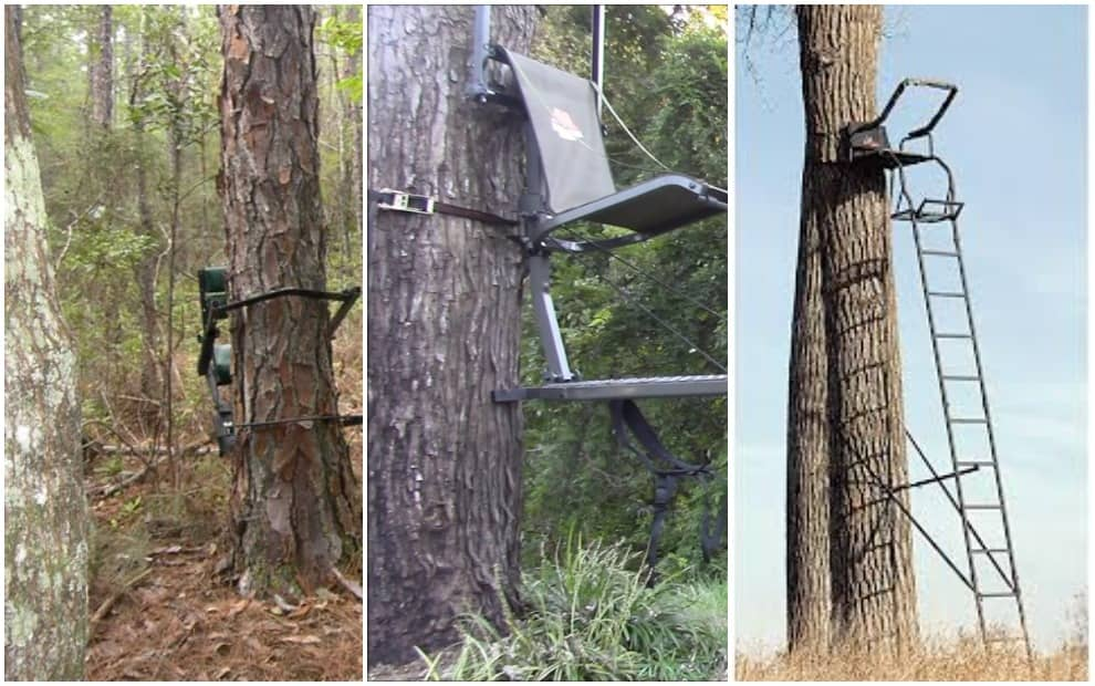 The Difference Between Climbing, Hang-on, and Ladder Tree Stands